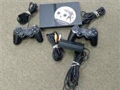 SONY PLAYSTATION 2 SLIM CONSOLE WITH FIGHT NIGHT 2004